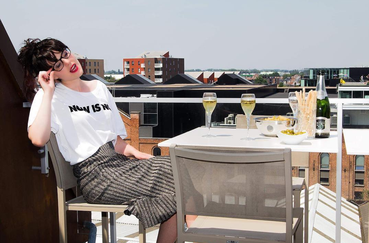 URBAN WEAR ON ROOFTOP CHAMPAIGN